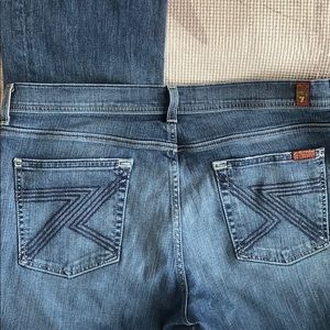 7 for all mankind Flynt Jeans sz 34